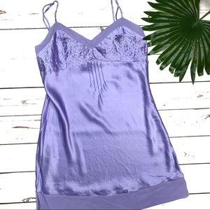 VICTORIAS SECRET | sz M vintage silk chemise